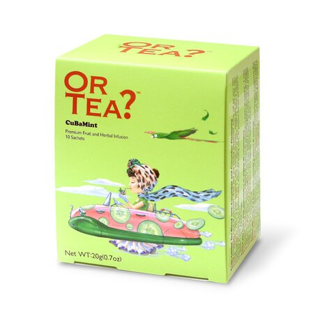 Ceai CUBAMINT plic 10X2G