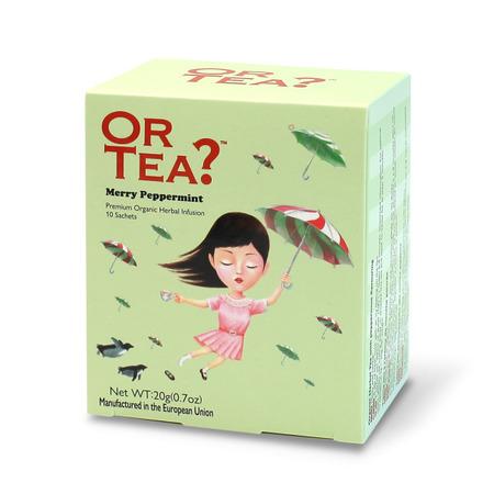 Ceai Ecologic MERRY PEPPERMINT plic 10X2G