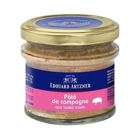 Pate artizanal cu fructe de padure roz Edouard Artzner 100gr