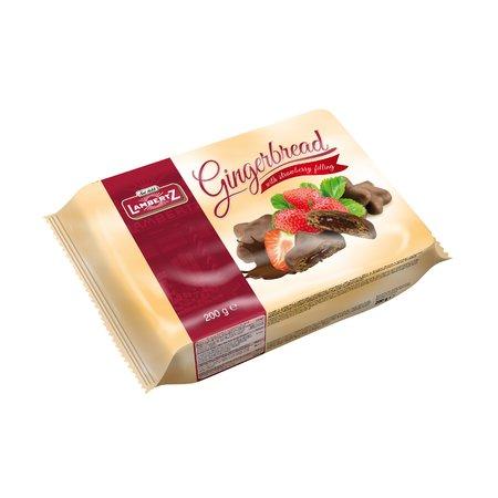 Turta dulce cu crema de capsune lambertz 200gr
