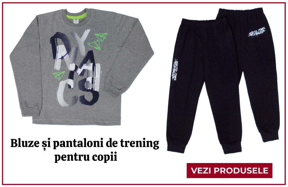 Bluze si pantaloni de trening pentru copii