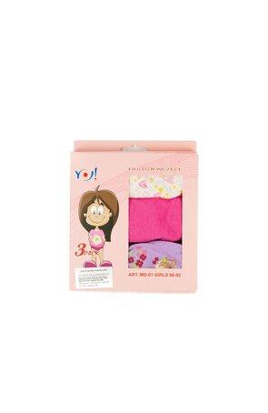 Chilot pentru fete, 3 buc/cutie (pret pe cutie) MD01