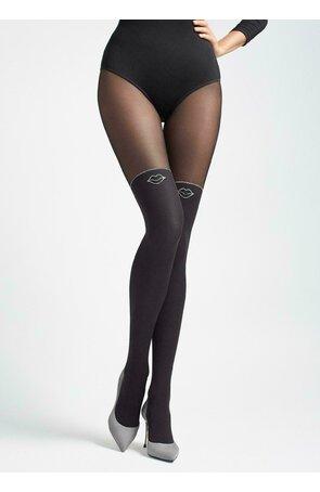 Ciorapi cu model Marilyn Zazu Kiss T01