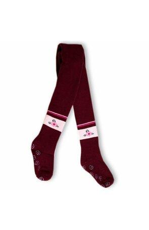 Ciorapi pantalon flausati cu ABS pt fete 534-013ABSG