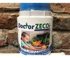 ECO ZEOLIT DOCTOR ZECO ABSORBANT PESTICIDE DIN FRUCTE SI LEGUME 200 GR