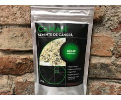 NATURAL SEMINTE DE CANEPA DECORTICATE 300 GR