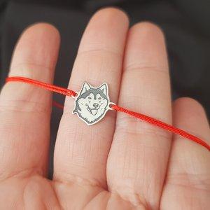 Bratara Husky - Argint 925, snur