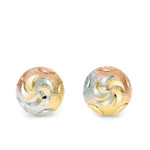 Cercei - Golden Bead - placati cu aur 18K