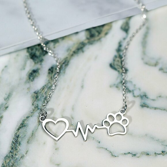 Lantisor Bataia Inimii si Labuta - Argint 925