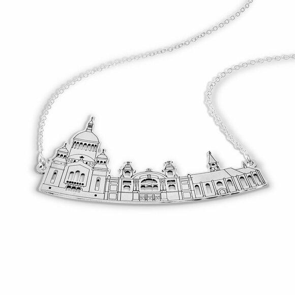 Lantisor personalizat - Orasul meu - Cluj-Napoca - Argint 925