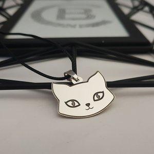 Pandantiv cap de pisica - Argint 925