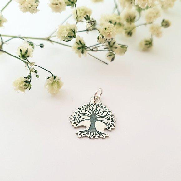 Pandantiv Copacul Vietii - Argint 925