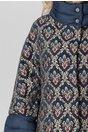 Jacheta Adele albastra cu imprimeu floral