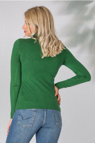 Maleta Elly verde inchis casual