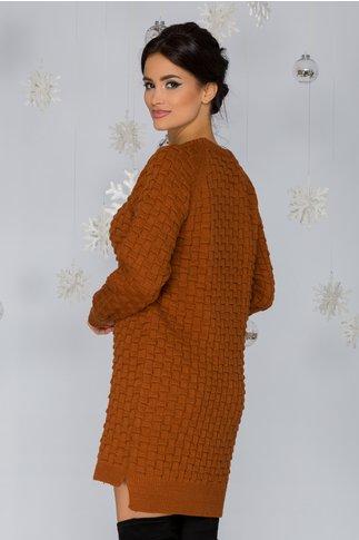 Rochie Mary maro tricotata