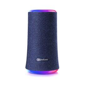 Boxa portabila wireless bluetooth Anker Soundcore Flare 2, 20W, 360° cu lumini LED, Albastru