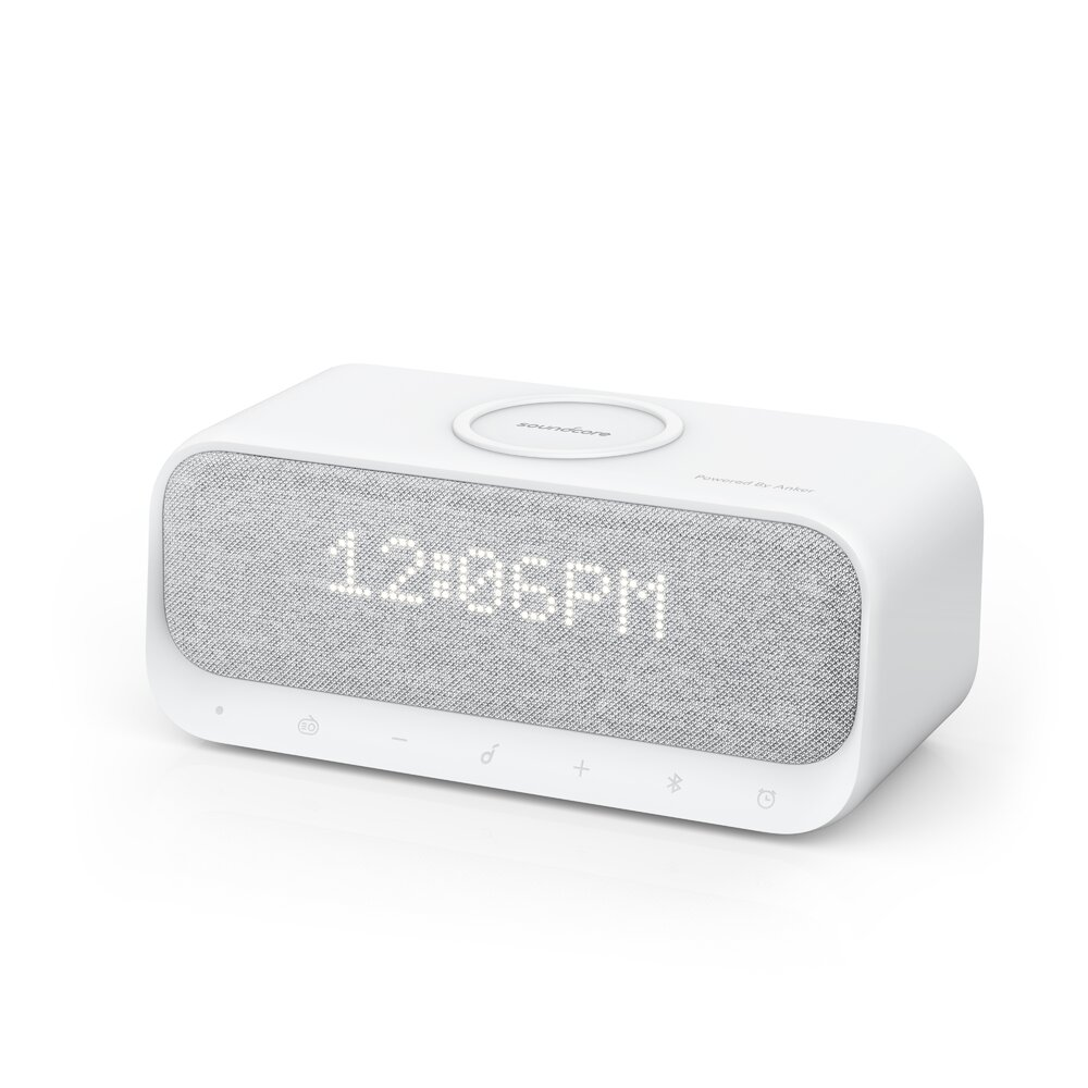 Imagine Boxa Wireless Bluetooth Anker Soundcore Wakey Ceas Alarma Radio