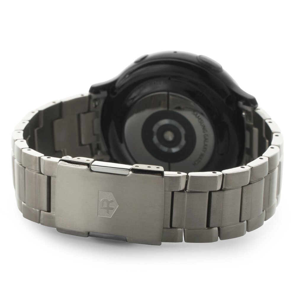Imagine Bratara Titanium Ringke Samsung Galaxy Active 2 44mm Argintiu