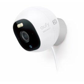 Camera supraveghere eufy Solo OutdoorCam C24 Pro, Ultra-Clear 2K, Reflector LED, IP67, Alb