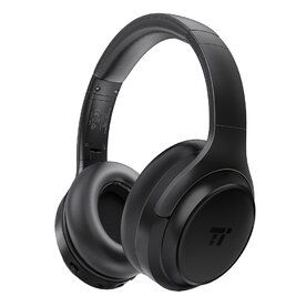 Casti On-Ear audio wireless active noise cancelling TaoTronics SoundSurge TT-BH060, Foldable, cVc 6.0, Negru