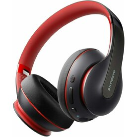 Casti Wireless Over-Ear Anker Soundcore Life Q10, Pliabile, Deep Bass, MultiPoint, Negru Rosu