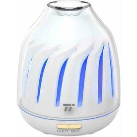 Difuzor aroma terapie Taotronics TT-AD007 cu LED 5 culori, auto oprire, Alb