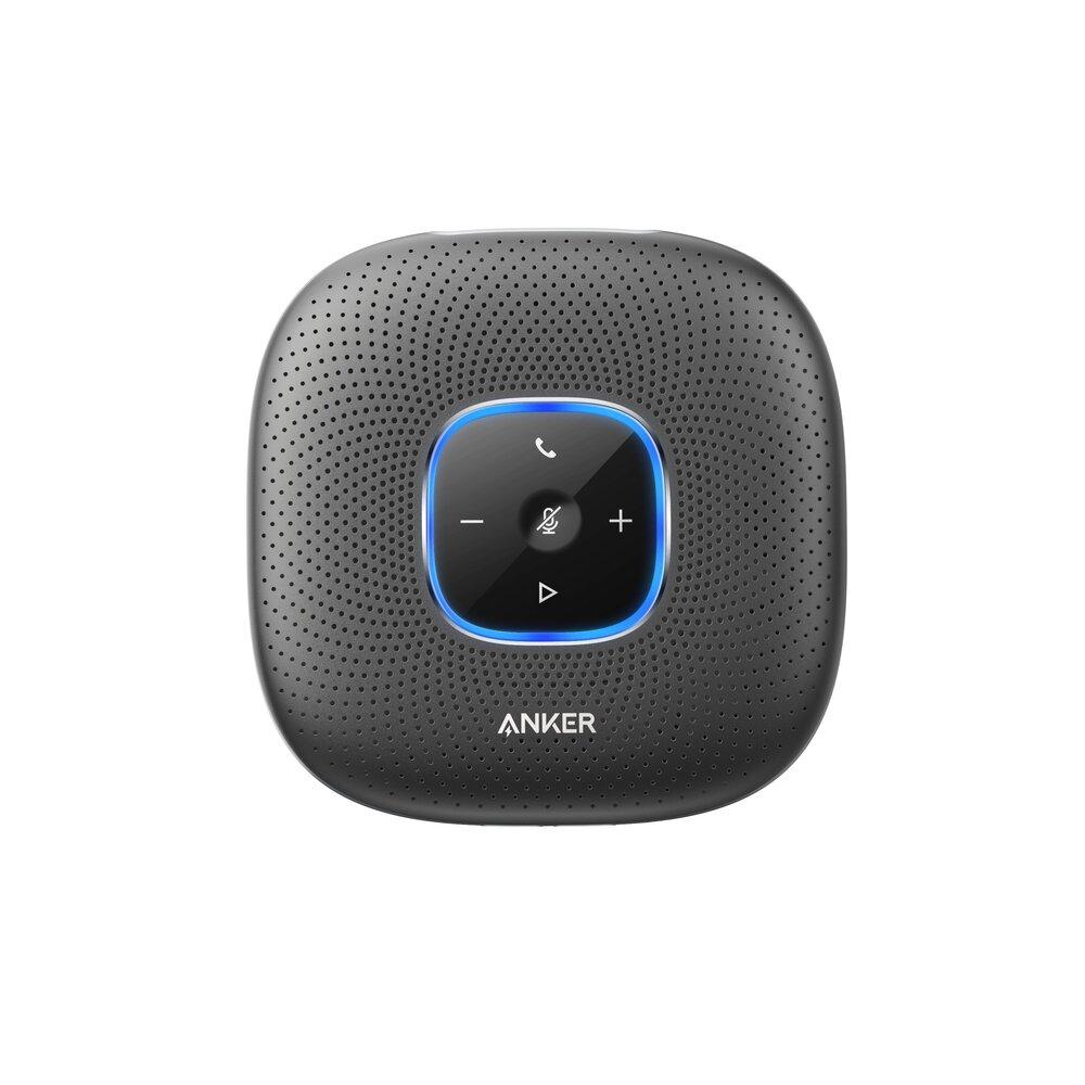 Imagine Difuzor Portabil Pentru Conferinta Anker Powerconf 6 Microfoane