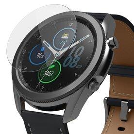 Folie sticla securizata Samsung Galaxy Watch 3 45mm 9H 0,33 mm Ringke ID Glass (Set 4 bucati, 3+1 GRATIS)