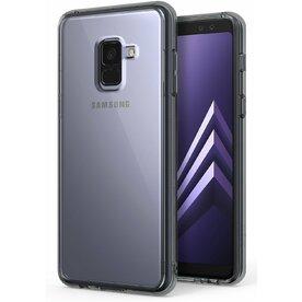 Husa Samsung Galaxy A8 Plus 2018 Ringke SMOKE BLACK