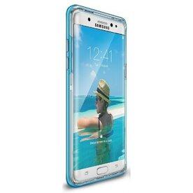 Husa Samsung Galaxy Note 7 Fan Edition Ringke FRAME OCEAN BLUE + BONUS folie protectie display Ringke