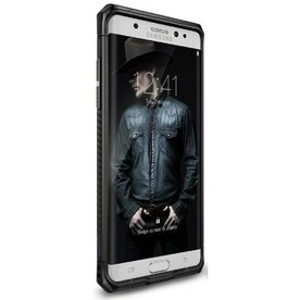 Husa Samsung Galaxy Note 7 Fan Edition Ringke MAX SLATE METAL + BONUS Ringke Invisible Defender Screen Protector