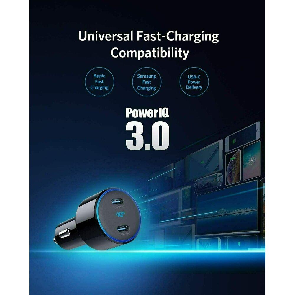 încărcător auto Anker PowerDrive+ III Duo