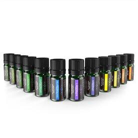 Set 12 uleiuri esentiale Anjou AJ-PCN013 12x5ml pentru difuzor aroma