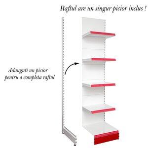 Raft metal RM-02 înălțime 225, lățime 50cm