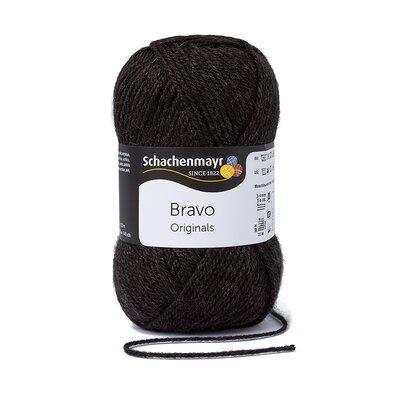 Acrylic yarn Bravo- Antracit 08370