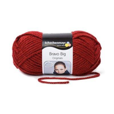 Acrylic Yarn-Bravo Big-Burgundy 00131
