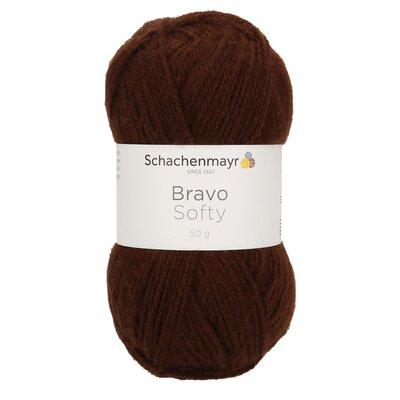 Acrylic yarn Bravo Softy - Brown 08281