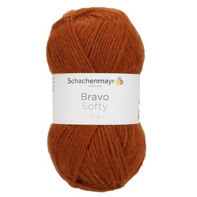 Acrylic yarn Bravo Softy - Fox 08371