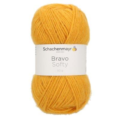 Acrylic yarn Bravo Softy - Gold 08028