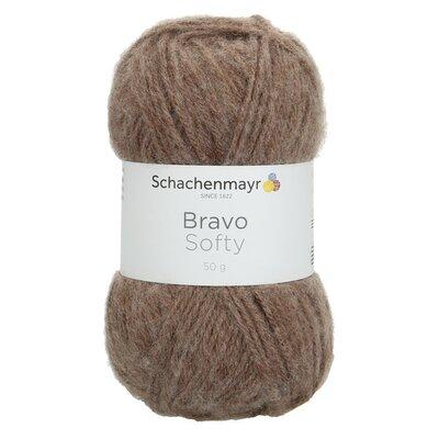 Acrylic yarn Bravo Softy - Light Brown 08197