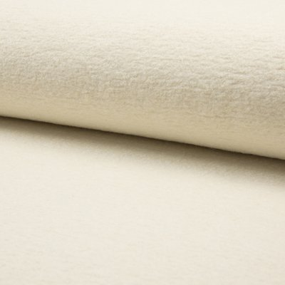 Boiled Wool Fabric - Ivory