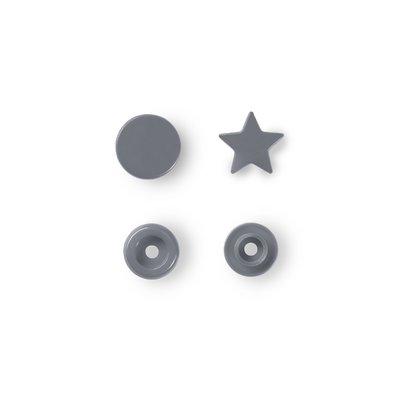 Color Snaps Star - Silver - 30 pcs