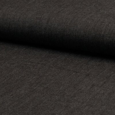 Cotton fabric - Chambrai Uni Black