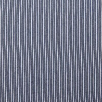 Cotton fabric - Jeans Stripe Blue