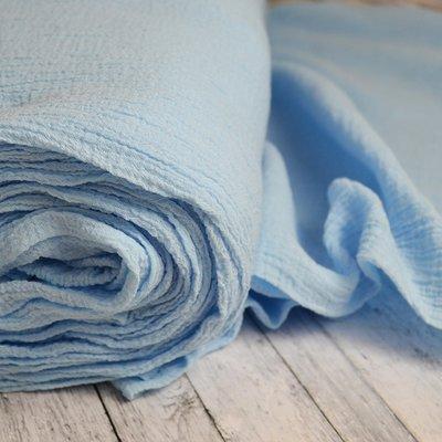 Cotton gauze - Anuca Blue