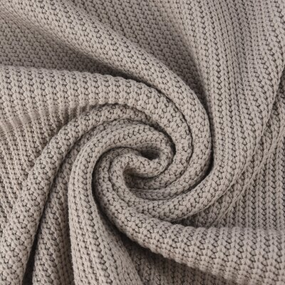 Cotton Knitted Cable - Beige