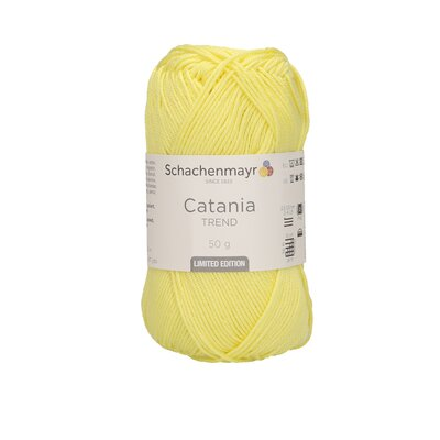 Cotton Yarn - Catania Fresh Yellow 0295