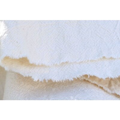 Crinckled Cotton gauze - Victoria White