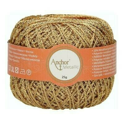Crochet Thread - Anchor Artiste Metallic 00300