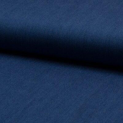 Denim Chambrai Viscose- Mid Blue